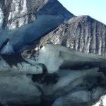 Glace du glacier Pichillancahue