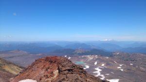 Vista sobre el volcán Mocho Choshuenco