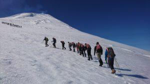 Ascenso volcan Villarrica