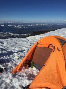 Campamento Lanin 2700m
