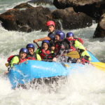Rafting sur la rivière Trancura