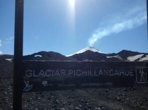 Glaciar Pichillancahue