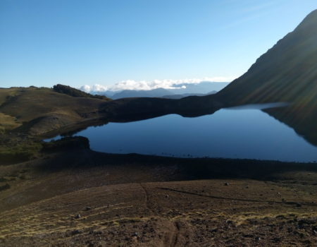 Laguna Azul vista desde arriba