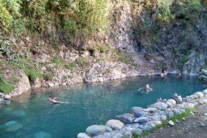 Pozo de agua termal en Los Pozones