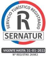 Servicio Turistico registrado en SERNATUR